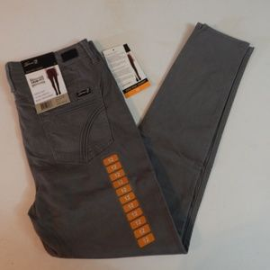 Seven7 Size 12 Gray High Rise Skinny Jeans NWT